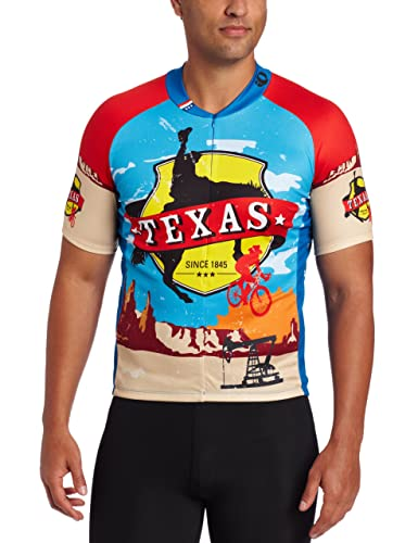 primal wear texas cycling jersey