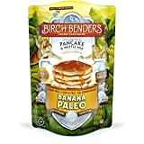 Banana Paleo Pancake and Waffle Mix by Birch Benders, Gluten Free, 6g Protein, Grain Free, No Added Sugar, Non-GMO, All Natural, 12 ounce