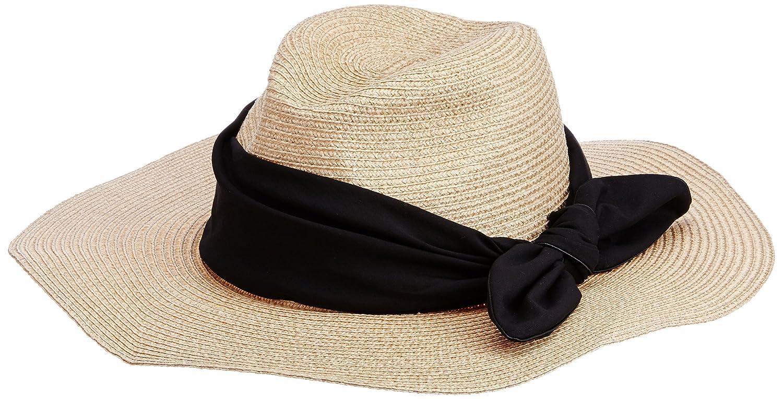 Amazon.co.jp: (スナイデル)snidel つば広リボン帽 SWGH151650 37 BEG F: 服&ファッション小物通販