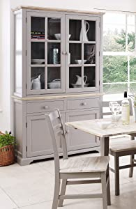 Florence Display Cabinet, Dresser dove grey       review and more information