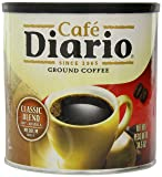 Café Diario Ground Coffee, Classic Blend, 34.5 Ounce (Pack of 6)