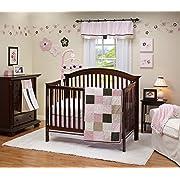 Trend Lab Prep School Pink Crib Bedding And Accessories