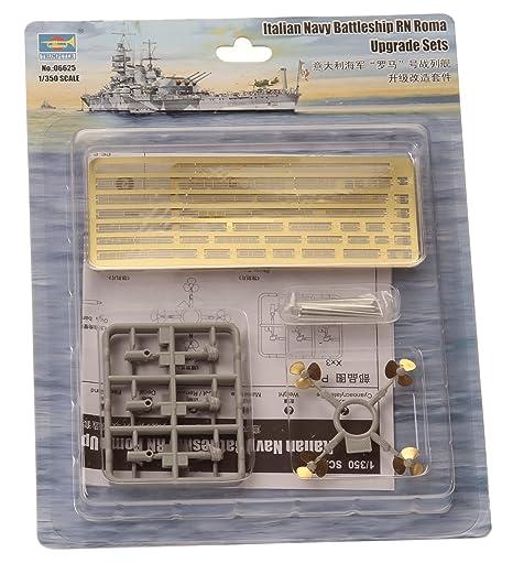 Trumpeter 1:350 - Italian Navy Battleship RN Roma Ungrade Sets