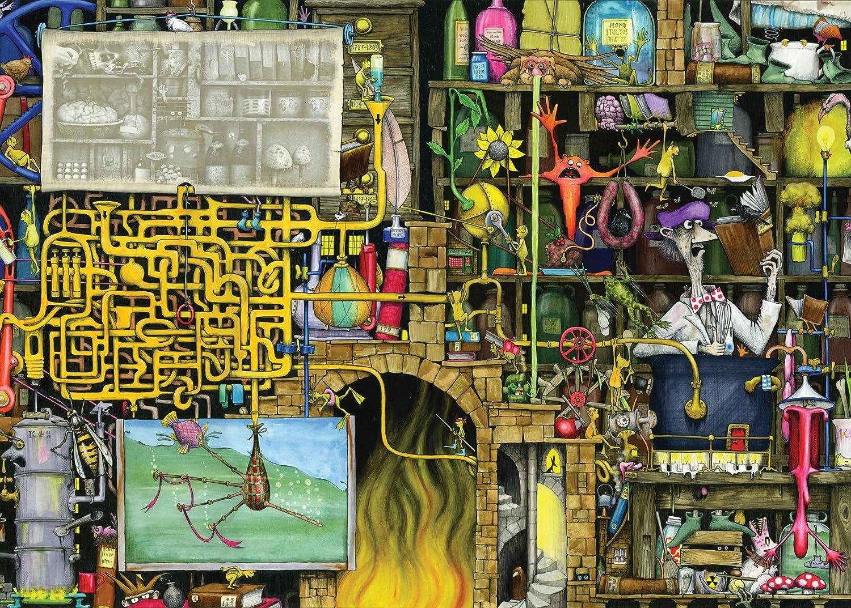 Laboratory Jigsaw Puzzle, 1000-Piece