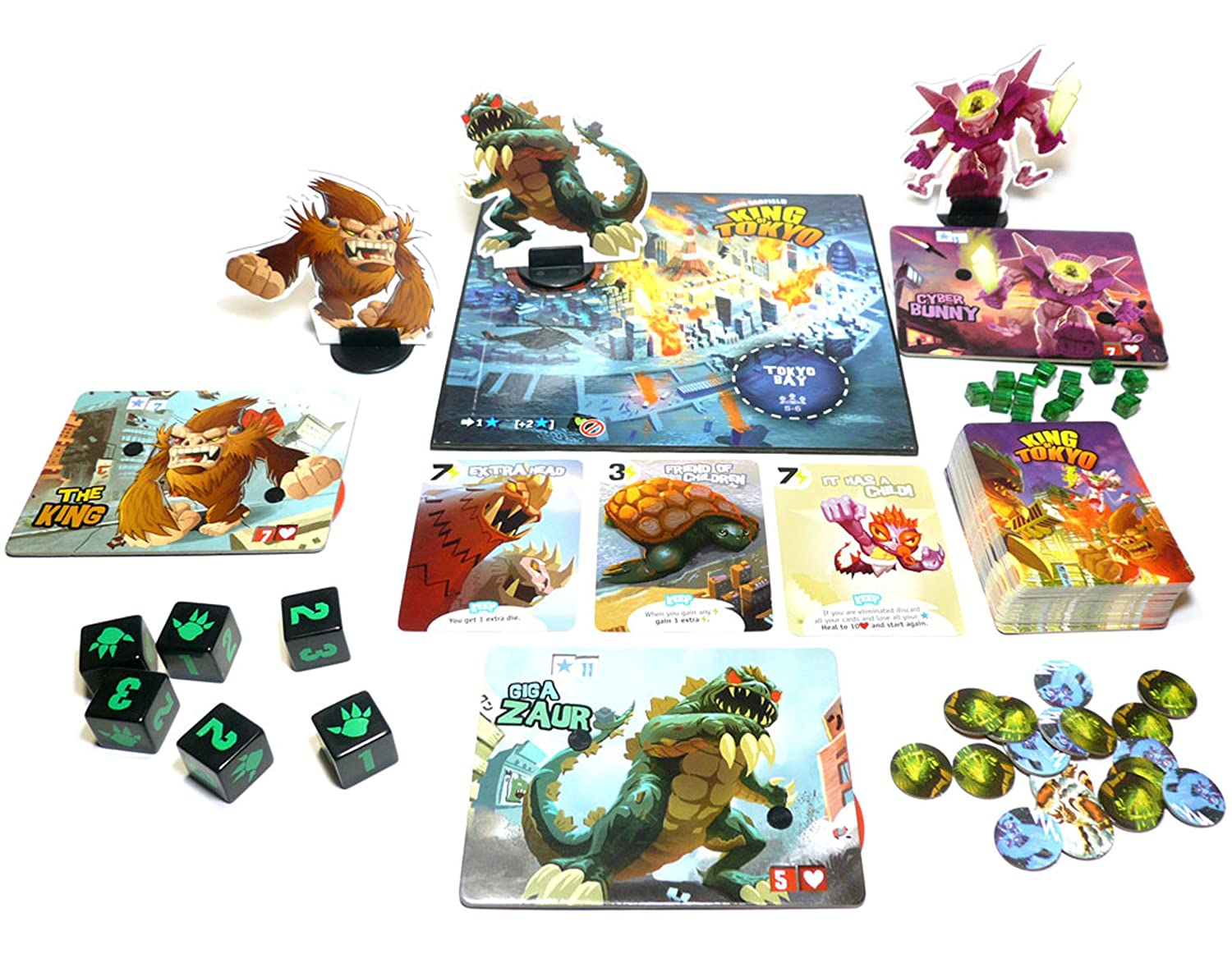 king of tokyo game pieces