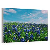 Westlake - Canvas Print Wall - Texas Hill - Canvas Stretched Gallery Wrap - Modern Picture Photography Artwork - Ready to Hang - 18x12in (37x a92)