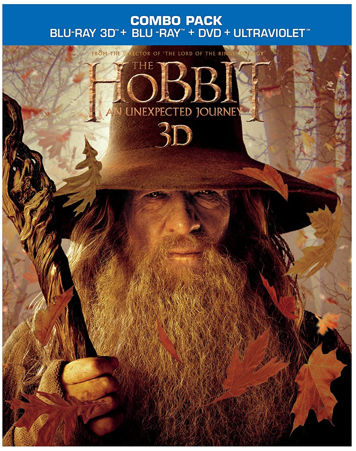 The Hobbit: An Unexpected Journey (Blu-ray 3D/Blu-ray/DVD + UltraViolet Digital Copy Combo Pack) $19.99