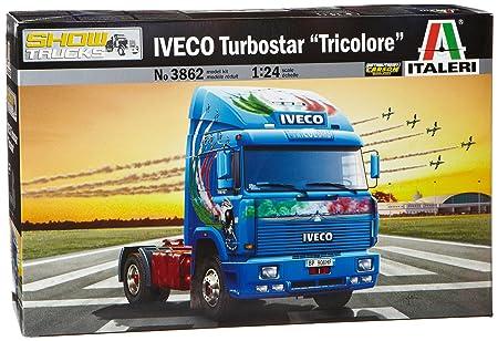Italeri - I3862 - Maquette - Voiture et Camion - Iveco Turbostar - Echelle 1:24