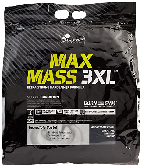 OLIMP Max Mass Erdbeere, 3XL, 1er Pack (1 x 6 kg)