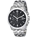 Tissot Men's T0554271105700 PRC 200 Stainless Steel Automatic Watch (Color: Silver)