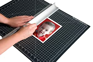 Dahle Vantage 10673 Self-Healing 5-Layer Cutting Mat Perfect for Crafts and Sewing 24 x 36 Black Mat (Color: Black, Tamaño: 24 x 36)