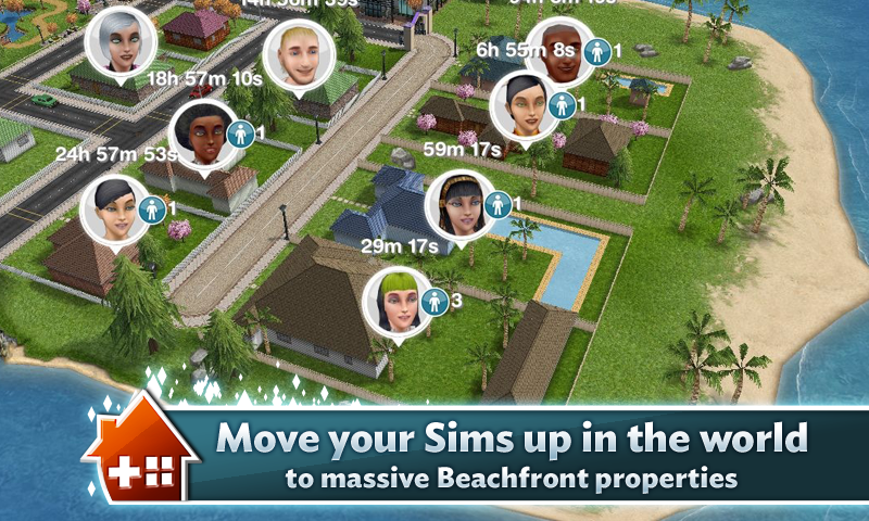 Sims FreePlay Houses