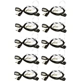 Arcshell Acoustic Tube Earpiece 10 Pack