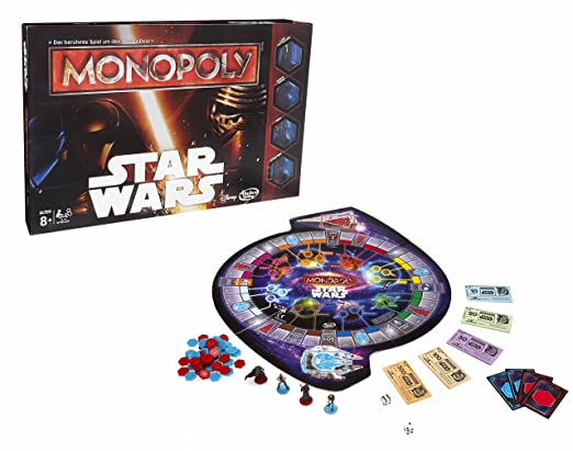 Hasbro B0324100 Monopoly Star Wars