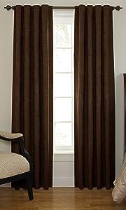 Sound Asleep Room-Darkening Noise-Reducing Backtab Window Panel