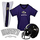 Franklin Sports NFL Baltimore Ravens Youth Licensed Deluxe Uniform Set, Large