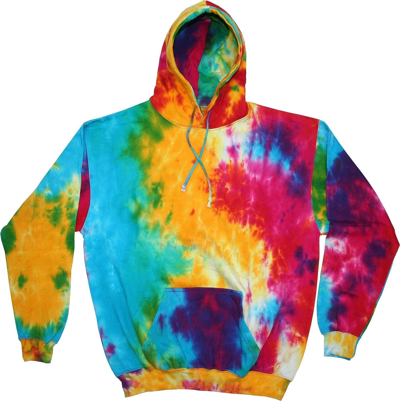 Pastel Tie Dye Hoodie Tie Dye Adult Pullover Hoodie