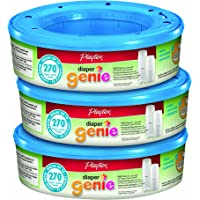 3-Pack Playtex 270 Count Diaper Genie Refills for Diaper Genie Diaper Pails