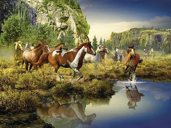 Wild Horses Jigsaw Puzzle