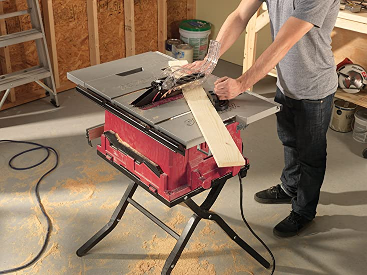 Skil 3410-02 Table Saw with Folding Stand Review