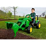 Peg Perego John Deere Front Loader (Color: Green, Tamaño: L)