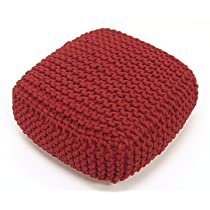 Cotton Hand Knitted Pillow