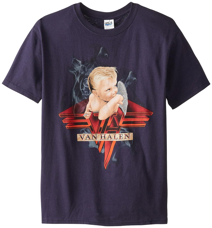 Van Halen '1984' Smoking Baby navy blue t-shirt van halen remastered cd