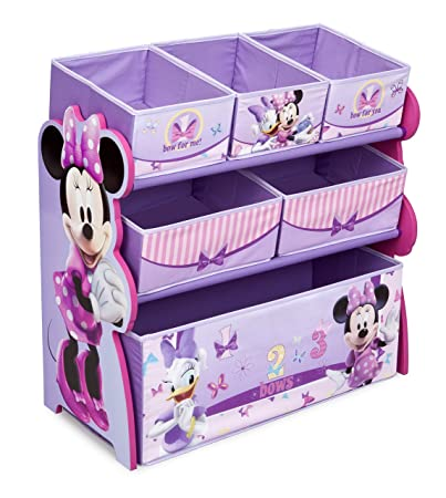 Disney Minnie Mouse-Giocattolo in legno-Organiser, colore viola