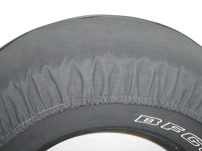 "30"" Jeep Logo Tire Cover - Black Denim - TJ Wrangler and Liberty"