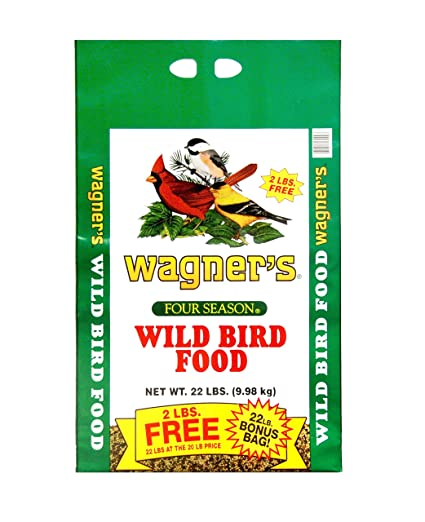 Wagner's 13009 Four Season Wild Bird Food, 22-Pound