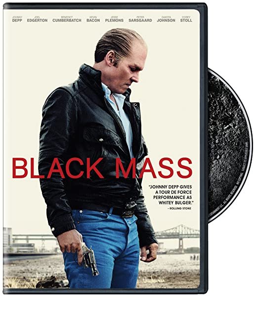 BLACK MASS (DVD)