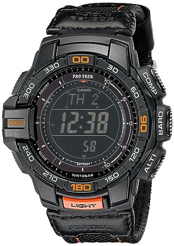 Casio 卡西欧 Protrek系列 PRG-270B-1CR 三传感器 太阳能户外手表