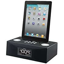 iHome iD83BZC App-Enhanced 30-Pin iPod/iPhone/iPad Alarm Clock Speaker Dock