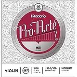 D'Addario Pro-Arte Violin String Set, 1/16 Scale, Medium Tension (Tamaño: 1/16 Scale)