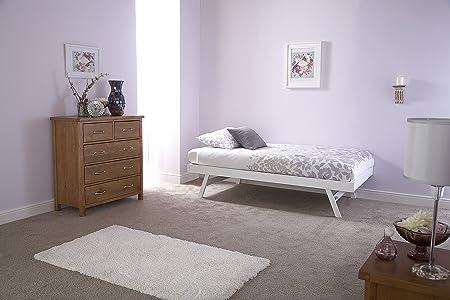 Madrid Conjunto de sofá cama y camanido, roble o blanco