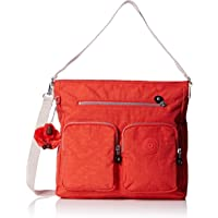Kipling 28cm Womens Tasmo Shoulder Bag (Coral Rose C )