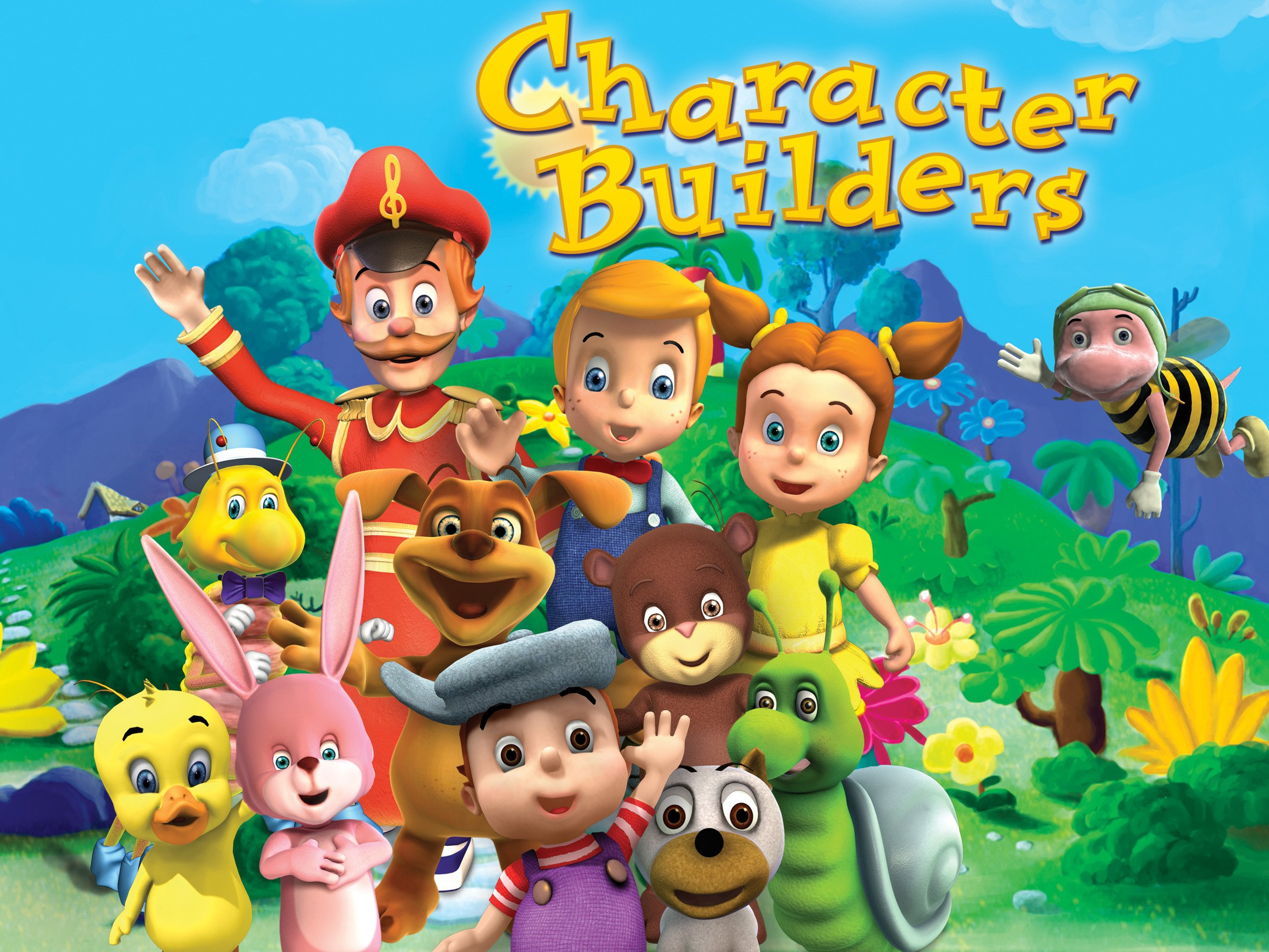 watch character builders on amazon prime instant video