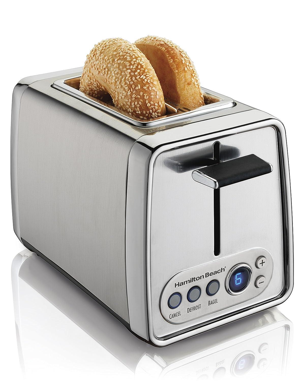 Hamilton Beach Classic Chrome 4 Slice Toaster: Hamilton Beach Modern Chrome 2,4-Slice Toasters