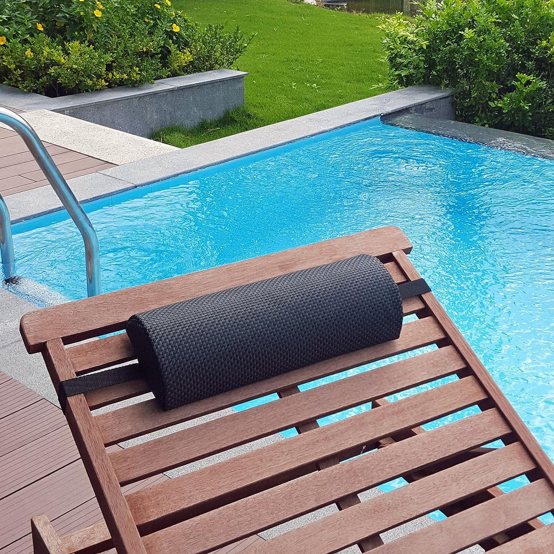10 Nackenpolster für Gartenmöbel Liegen Deckchair Relaxsessel Sauna