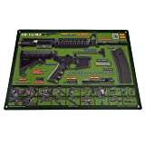 AR-15 M4 M16 Gun Cleaning Mat - OD Green – Tactical Atlas