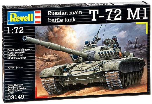 Revell - Maquette - T-72 M1  - Echelle 1:72
