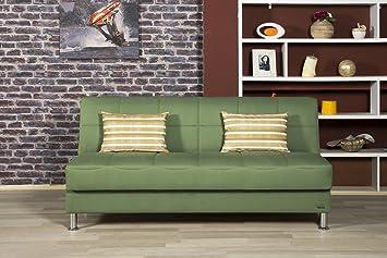 Eco Plus Sofa Bed   Prusa Green