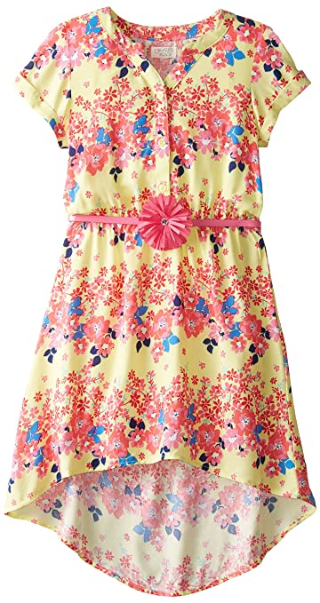 The Children's Place Big Girls' Floral Dress