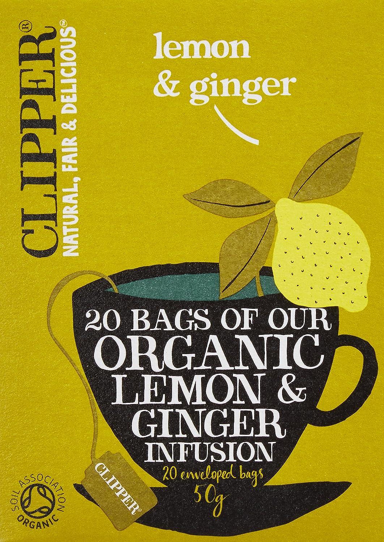 クリッパー レモン&ジンジャーティー 50g
