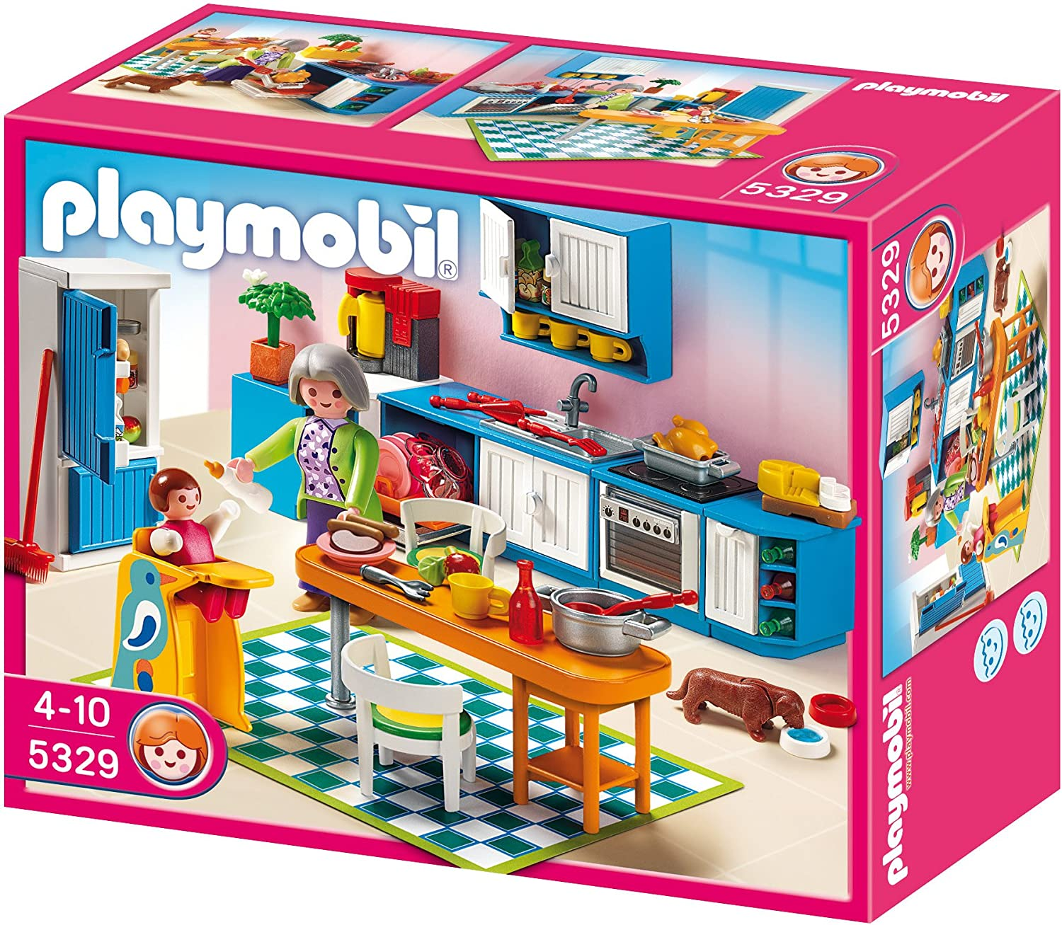 playmobil einbauk che 5329 test preisvergleich. Black Bedroom Furniture Sets. Home Design Ideas