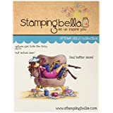 Stamping Bella Uptown Girl Sophia is A Sicky Cling Rubber Stamp, 6.5