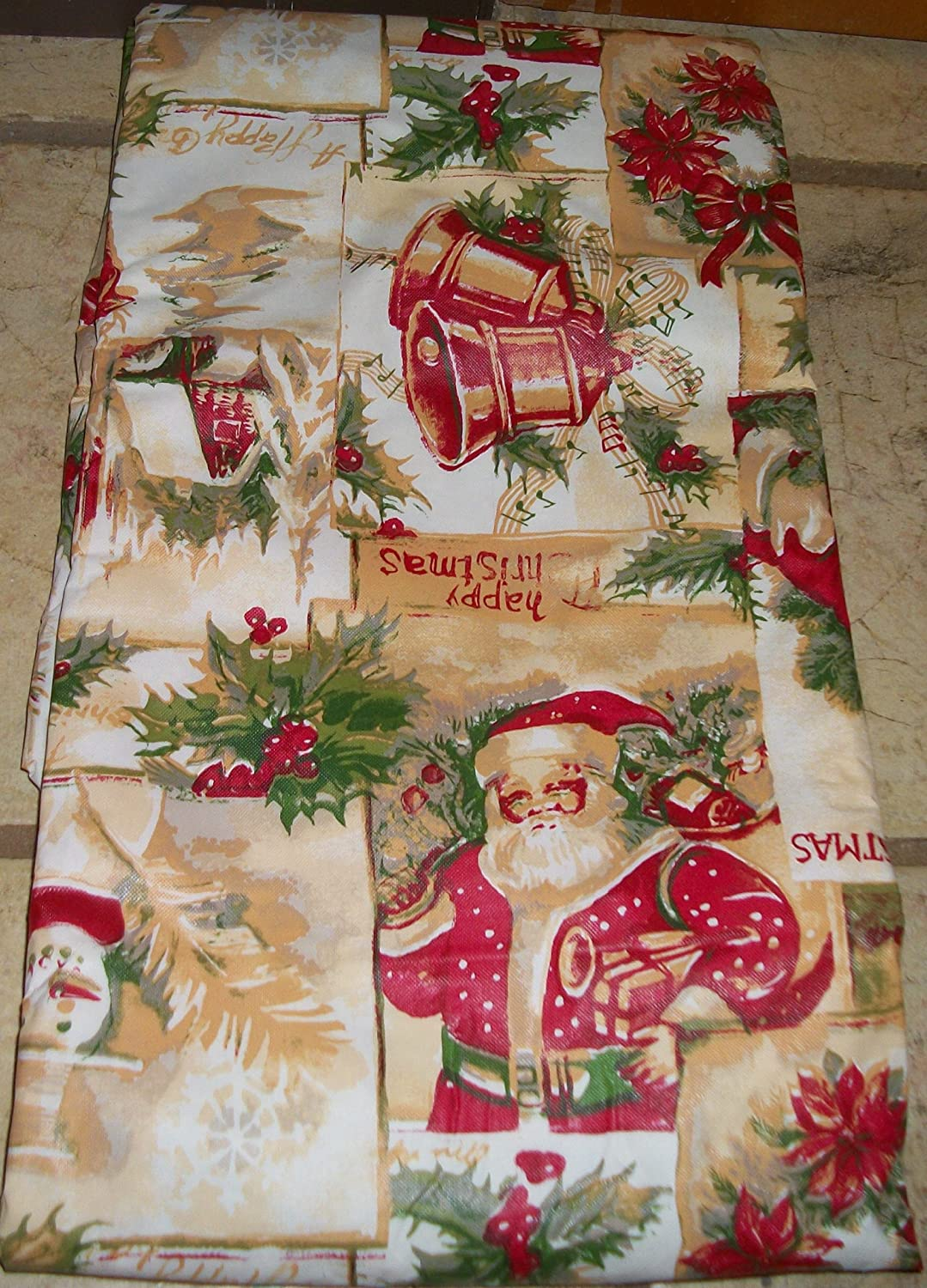 Santa Tablecloths Christmas Wikii