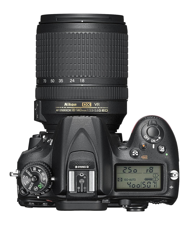 Nikon D7200 DX-format DSLR w/ 18-140mm VR Lens