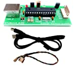 Silicon TechnoLabs 8051 & AVR USB ISP Programmer with free USB cable,Support AT89S51,AT89S52 etc. Support AVR