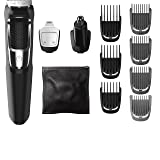 Philips Norelco Multigroom Series 3000, 13 attachments, FFP, MG3750 (Color: kkkk, Tamaño: 13 piece)